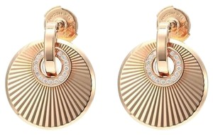 Chopard Chopard 18K Rose Gold Diamonds Earrings 839205-5001