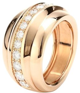 Chopard Chopard 18K Rose Gold Diamonds Ring 829399 US 6.75