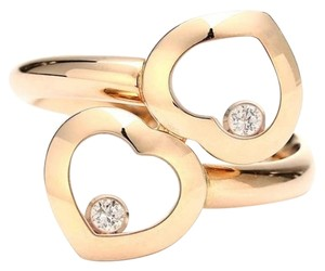 Chopard SH-CPJ0013 Chopard 18K Rose Gold Diamonds Ring US 6.25