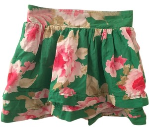 Abercrombie & Fitch Mini Flowers Mini Skirt