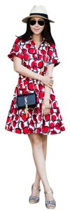 Kate Spade short dress Red Polka Dot on Tradesy