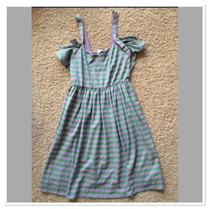 See by Chloé short dress Lavender Green on Tradesy