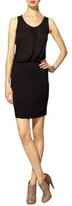 Velvet by Graham & Spencer short dress Black Soft Comfortable on Tradesy