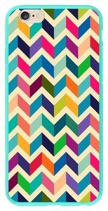 Maxboost iPhone 6 Chevron Premium Coated Protective Hard Case