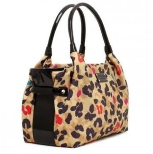 Preload https://item3.tradesy.com/images/kate-spade-stevie-leopard-print-with-magenta-teal-and-red-nylon-shoulder-bag-134082-0-0.jpg?width=440&height=440
