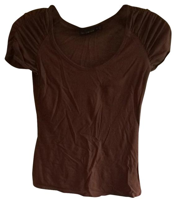 Preload https://item2.tradesy.com/images/the-limited-brown-t-shirt-1340831-0-0.jpg?width=400&height=650