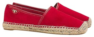 Tory Burch Spadrille Style Mckenzie New Kirk Royal Size 5 M red Flats