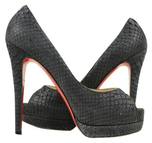 Christian Louboutin Charcoal Pumps