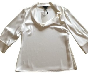 St. John Top Bright white