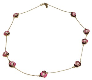 Kate Spade Kate Spade Deco Blossom Long Scatter Necklace NWT Beautiful Double Sided Scatter Blossoms!