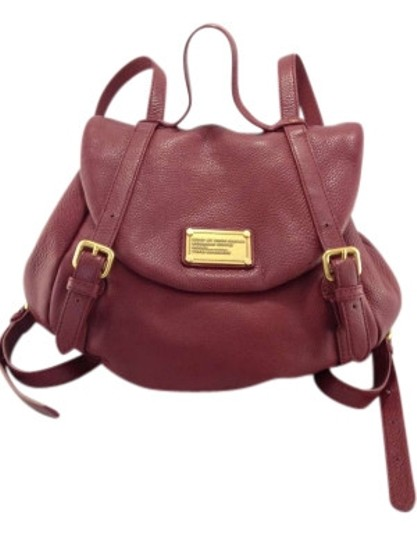 Preload https://img-static.tradesy.com/item/134097/marc-by-marc-jacobs-classic-chianti-red-leather-backpack-0-0-540-540.jpg