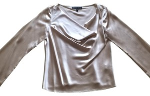 Lafayette 148 New York Top Gold/ beige