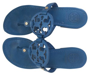 Tory Burch Blue Sandals