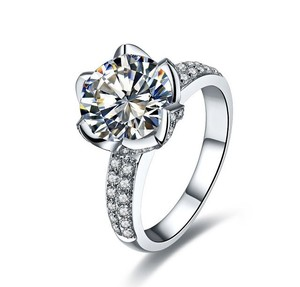 All Sizes In Stock 4.5 5 5.5 6.5 7 7.5 8 8.5 New Wedding Bridal Engagement Diamond Ring Lab Man Certified Authentic Sona