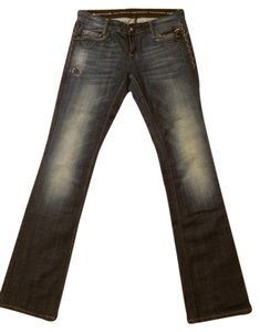 Rerock for Express Boot Cut Jeans-Dark Rinse