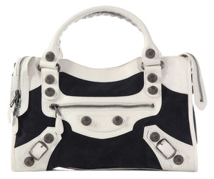 Balenciaga Bg.k0211.03 2008 Gsh Motocross City Satchel