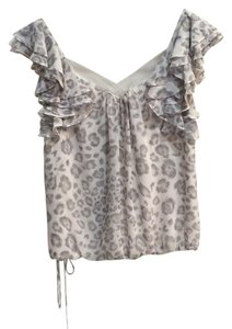 Rebecca Taylor Top Light gray