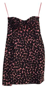 H&M short dress Black and pink on Tradesy