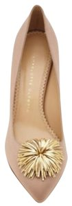 Charlotte Olympia Shoe Satin taupe Formal