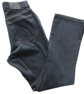 Calvin Klein Straight Relaxed Fit Jeans-Dark Rinse