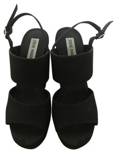 Steve Madden Black Sandals
