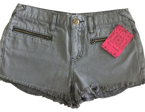 Free People Cut Off Shorts Gray