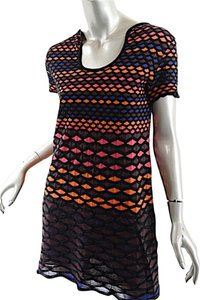 Missoni short dress Black and Red Short Sleeve on Tradesy
