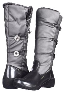 Khombu Pewter gray black Boots