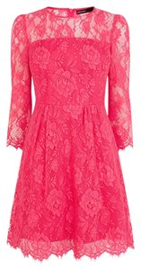 Karen Millen Lace Feminine Size 12 Dress