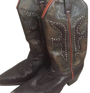 Frye Brown Multi Boots