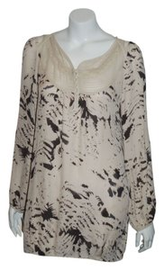 YaYa Aflalo Silk Long Sleeve Tunic
