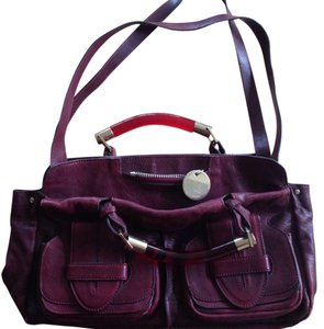 Chloé Satchel in Maroon