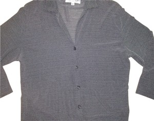 Mark Shale Work Going Out Button Down Shirt Black & White
