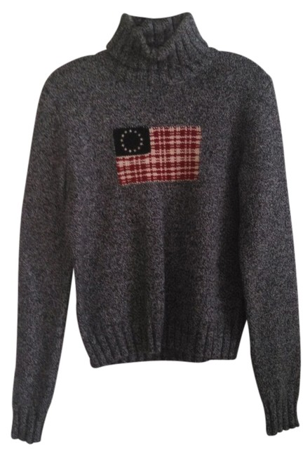 Preload https://item5.tradesy.com/images/ralph-lauren-blk-white-navy-red-sweaterpullover-size-8-m-1341424-0-0.jpg?width=400&height=650