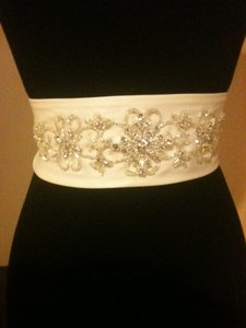 Other Custom-made Satin & Crystal Sash