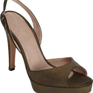 Barneys Co-Op Bronze Platforms