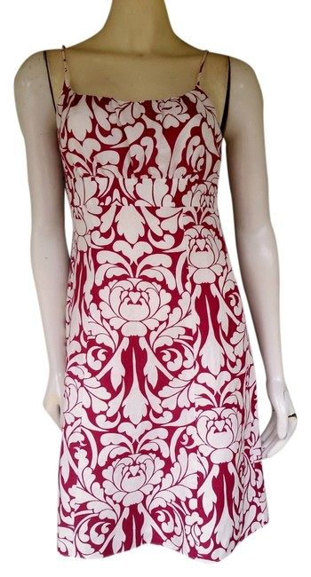 Preload https://item4.tradesy.com/images/ann-taylor-red-damask-print-linen-2p-knee-length-short-casual-dress-size-petite-2-xs-1341438-0-0.jpg?width=400&height=650