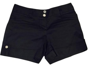 White House | Black Market Cuffed Shorts Black