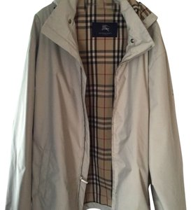 Burberry Beige and plaid Jacket
