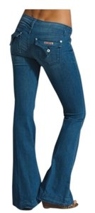 Hudson Jeans Flare Flattering Sexy Boot Cut Jeans-Dark Rinse