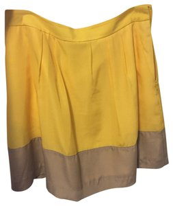J.Crew Mini Skirt Yellow
