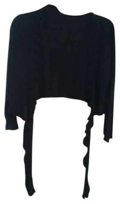 Preload https://img-static.tradesy.com/item/134158/casual-corner-black-pretty-wear-over-a-dress-or-pretty-blouse-ties-in-front-sweaterpullover-size-6-s-0-0-650-650.jpg