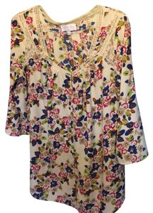 Jessica Simpson Maternity Button Down With Adjustable Waist & Sleeves