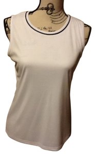 Allison Daley Sleeveless Professional Top White