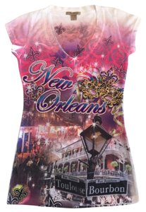 Rosio New Orleans Tee New Orleans Shirt Graphic Shirt New Orleans V-neck Shirt T Shirt