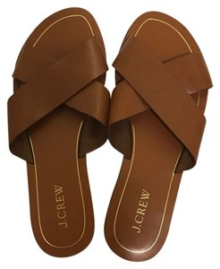 J.Crew Brown/tan Sandals