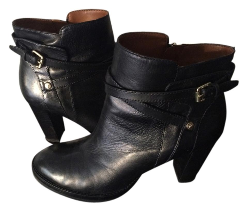 Ivanka Trump Black Boots/Booties Leather - Boots/Booties Black e438a7