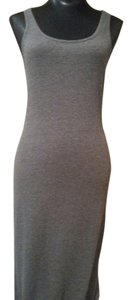 Gray Maxi Dress by Urban Outfitters Coverup Sleeveless Tank Top Maxi