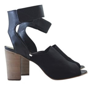 Steven by Steve Madden Heels Comfortable Black Sandals
