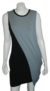 Bailey 44 short dress GRAY/black Plunging Foxy on Tradesy